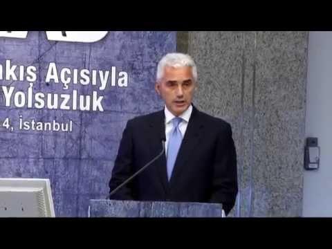 """TÜSİAD Başkanı Haluk Dinçer'in """"İş Dünyası Bakış Açısıyla Türkiye'de Yolsuzluk"""" Semineri Konuşması"""
