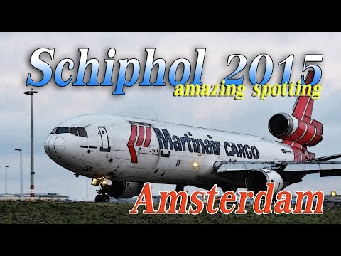 【4K】 Amazing!! Airport Schiphol 2015 Spotting Dijest-2 スキポール空港ダイジェスト版-2