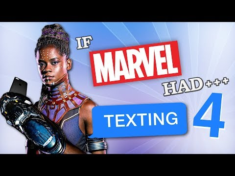 If Marvel Had Texting 4