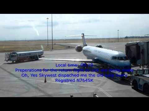 United Express (Skywest) /Los Angeles-Sacramento-San Francisco/Economy/CRJ 700+EMB 120/JUL2014