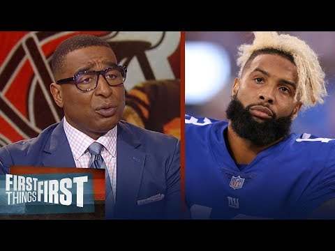 OBJ defends himself against the Giants on Twitter Cris Carter reacts  NFL  FIRST THINGS FIRST