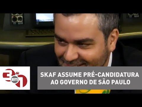 Skaf assume pré-candidatura ao governo de São Paulo