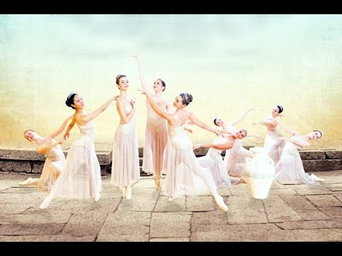 Amazing Grace - Ballet with live piano music worship