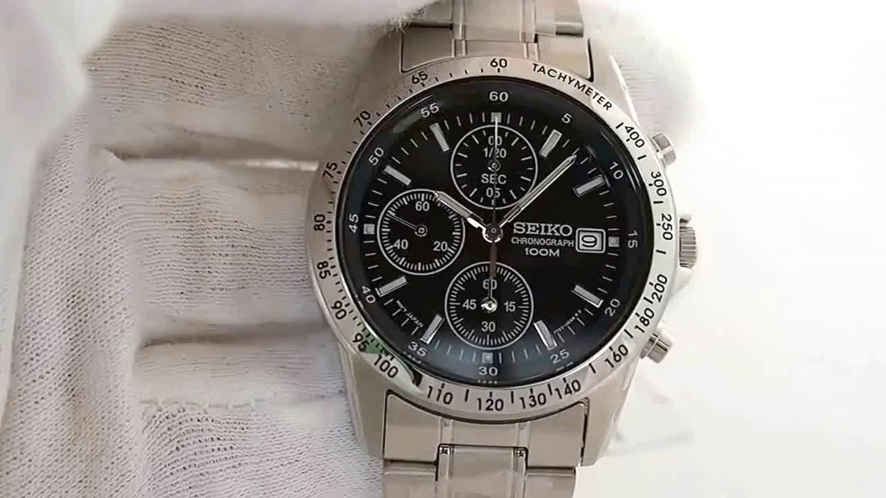seiko 7t92 0dw0 snd367 chronograph watch youtube rh youtube com Seiko Chronograph 100M 7T92 seiko chronograph 100m 7t92 manual