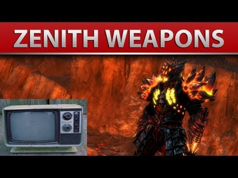 Guild Wars 2: Zenith Weapon Skins from the New Achievement Reward System!