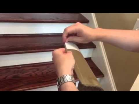 Delicieux Installing Peel And Stick Carpet Stair Treads