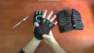 אנבוקסינג כפפות חדשות לחדר כושר | השוואה בין 3 סוגי כפפות | Gym Gloves