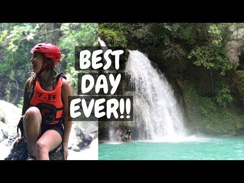 BEST DAY EVER! // CANYONEERING & KAWASAN FALLS  IN CEBU, PHILIPPINES