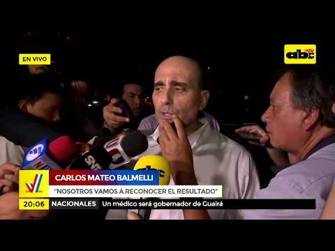 Carlos Mateo Balmelli dice que hay irresponsabilidad en las boca de urna