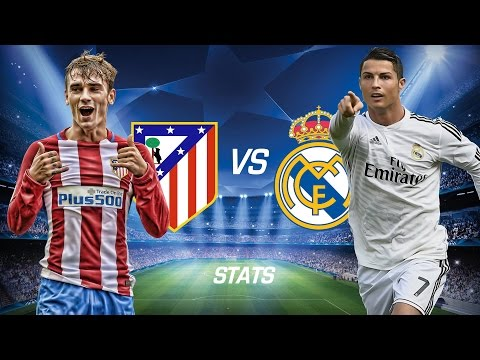 Atletico Madrid vs Real Madrid Champions League Semi-Finals Match (2 May 2017 - Statistics)