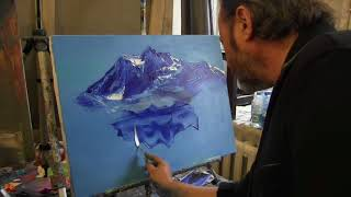 Игорь Сахаров, научиться писать горы маслом