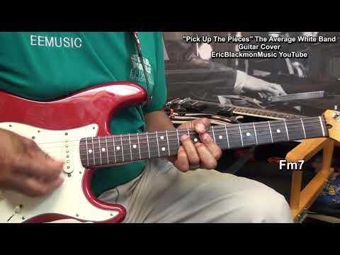 PICK UP THE PIECES The Average White Band Guitar Chords Cover - EricBlackmonGuitar