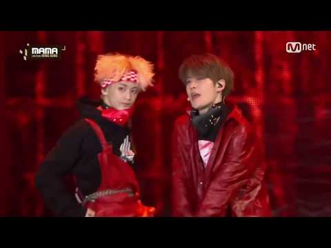 NCT 127 - Fire Truck - Live [MAMA 2016]
