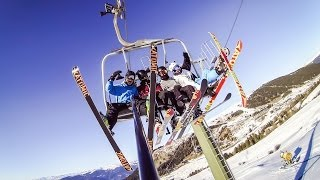 GoPro HERO 3 - Skiing the Weekend