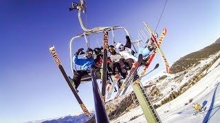 GoPro HERO 3 - Skiing the Weekend