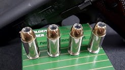 AMMO TEST:  .45 ACP Remington Golden Saber 185 gr JHP