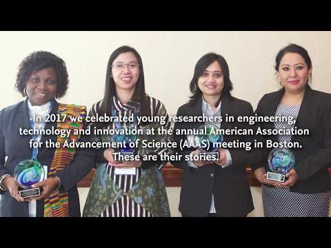 2017 OWSD-Elsevier Foundation Awards for Early-Career Women Scientists in the Developing World