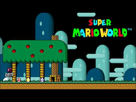 Super Mario World - Custom Music Mix [1 HOUR]