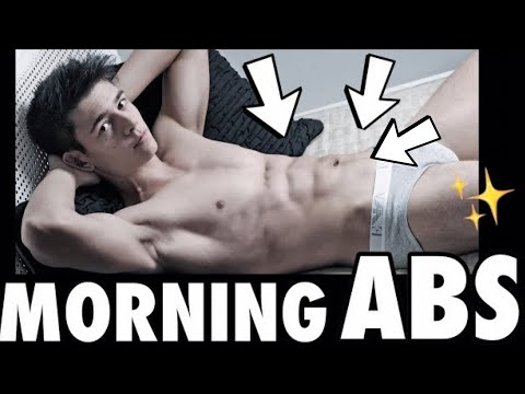 MY SIXPACK MORNING ROUTINE! Fast and Easy Sixpack ABS!