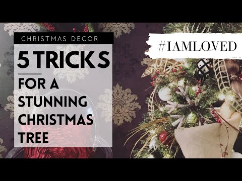 Decorate a Stunning Christmas Tree Using These 5 Tricks | Christmas Decor