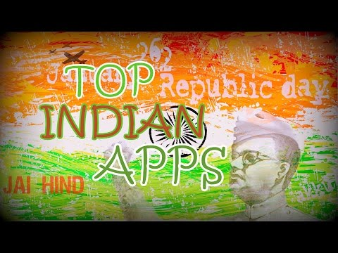 🇮🇳Republic Day Special !! Top 12 Indian Apps !! Made In INDIA Edition !