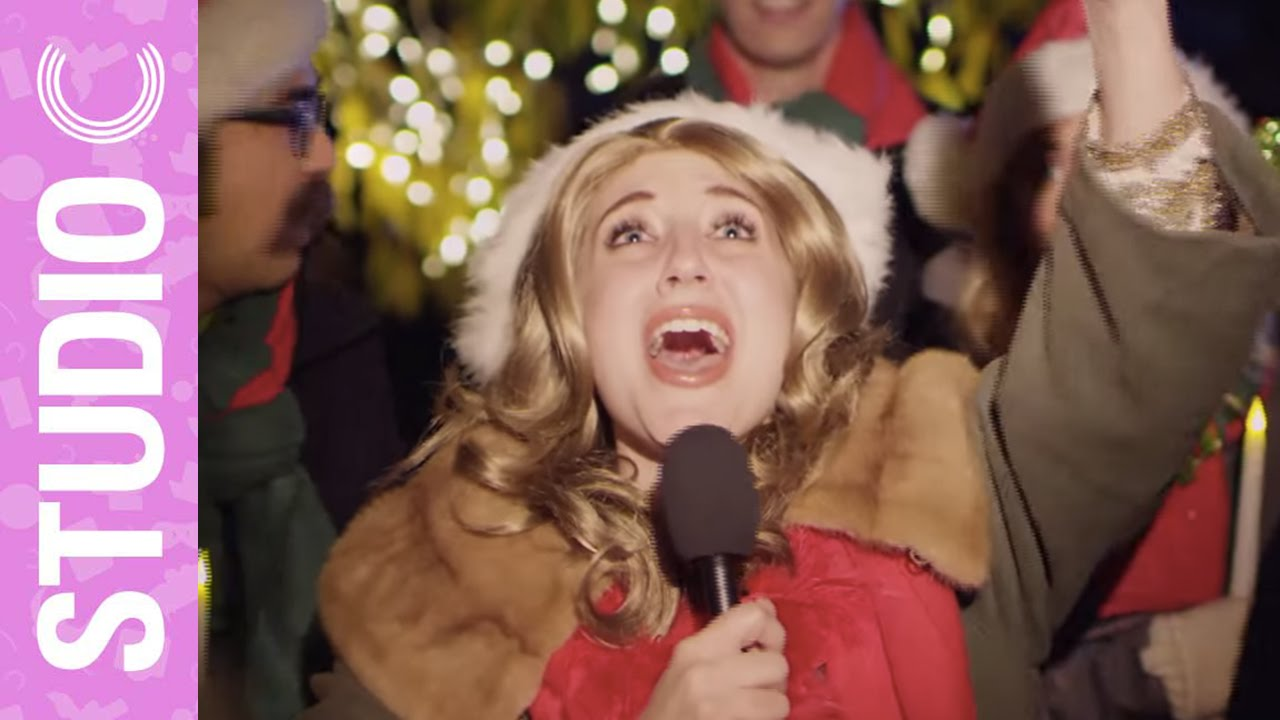 Studio C Christmas.Celine Dion Goes Christmas Caroling