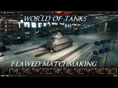 world of tanks matchmaking problems