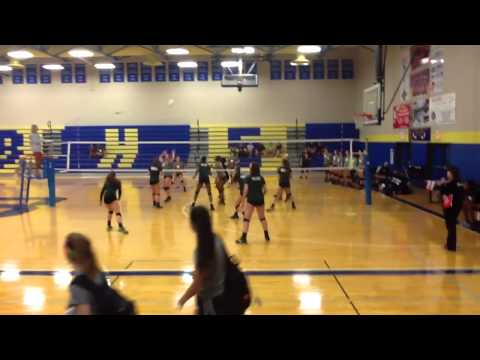 Alyiah Wells VOLLEYBALL July 2015 Brentwood Team Camp