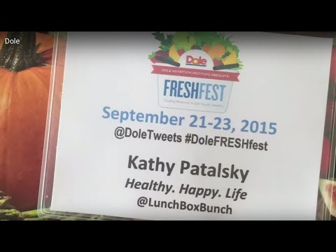 Dole Nutrition Institute 'Fresh Fest' Blogger Event