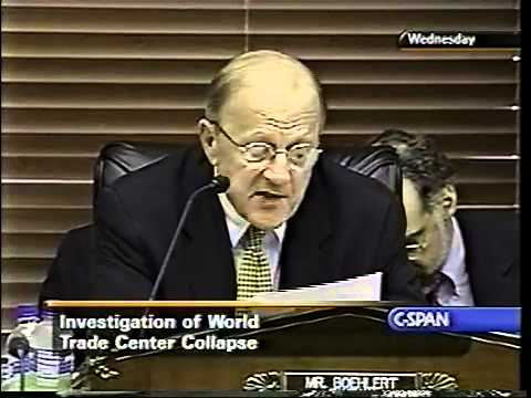 """House Science Committee """"unhappy"""" with WTC investigation"""