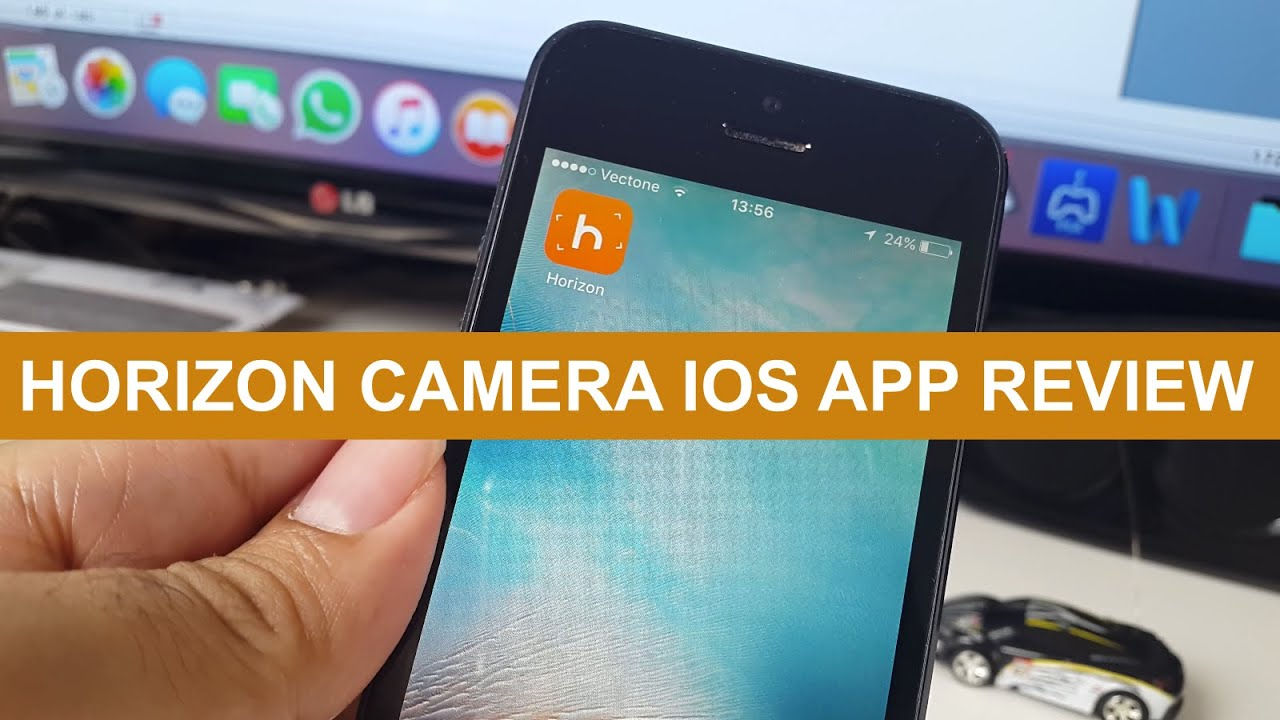 Best iOS Apps - Horizon Camera App Review - YouTube