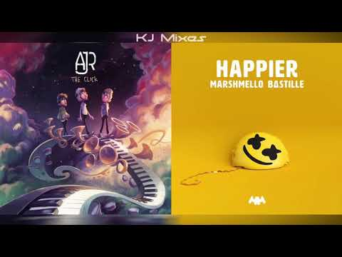 AJR x Marshmello ft. Bastille - Sober Up/Happier (MASHUP)