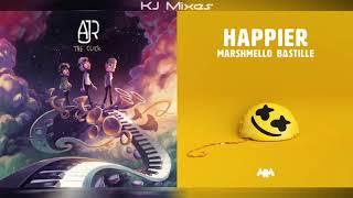 AJR x Marshmello ft. Bastille - Sober Up/Happier (MASHUP)