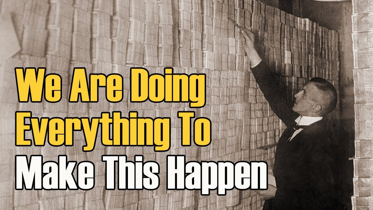 INFLATION - HYPERINFLATION IS COMING - WHAT WILL YOU DO?