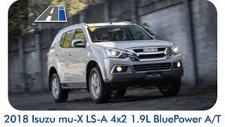 2018 Isuzu mu-X 1.9 RZ4E BluePower A/T Review