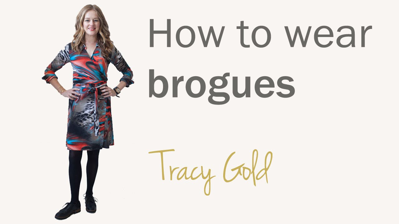 acbffb4c1773 How to wear brogues for women over 40 - how to wear shoe trends for ...