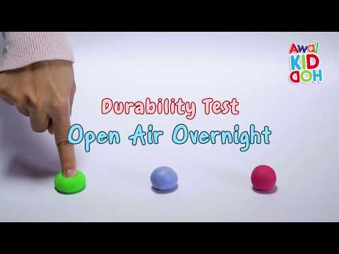 Play With Clay | Awal KIDDOH | Durability Test