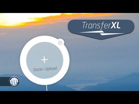 Gratis unendlich Daten hoch- / runterladen - TransferXL.com