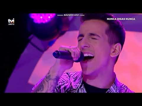 Fernando Daniel - Espera - Nunca digas nunca, na TVI