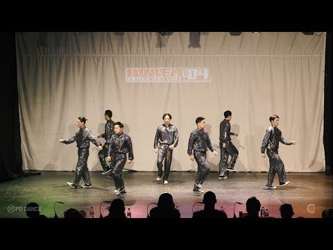 ANIMATION CREW   WINNER   2018 KOREA DANCE DELIGHT VOL.4