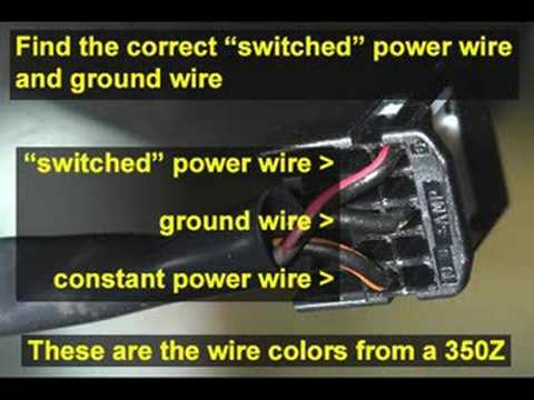 hqdefault hidden mirror radar detector power cord installation tutorial  at nearapp.co