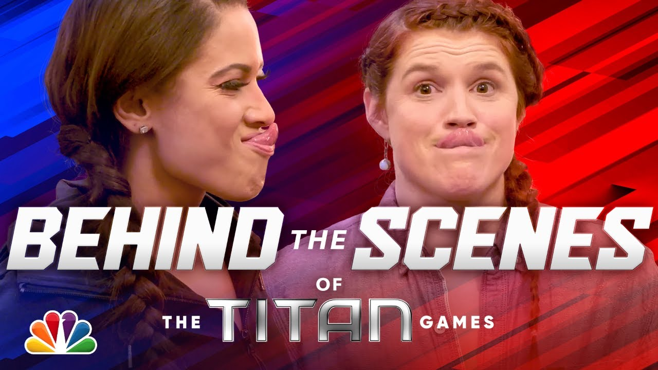 Goofing Around Behind the Scenes - The Titan Games