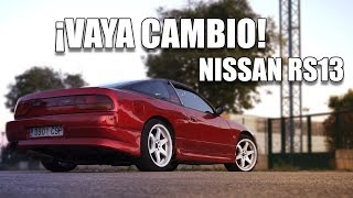 MODO ITV OFF EN EL NISSAN 200SX RS13 | NACHO DRIFT