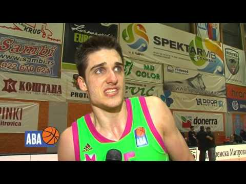 Rade Zagorac after the second semi-final game against Budućnost VOLI