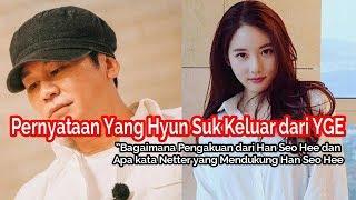Yang Hyun Suk Keluar dari YG Entertainment, Pengakuan Han Seo Hee, Pendapat K-Net & Kelanjutan B.I