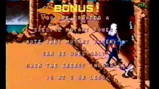 X-Men playthrough Konami 4-players arcade game -Not MAME-