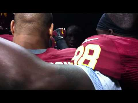 (Sept. 9, 2012) London Fletcher Pregame Speech Vs. Saints