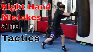 Right Hand Mistakes and Set-ups for Boxing