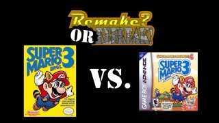 ROR: Super Mario Bros. 3 Vs. Super Mario Advance 4