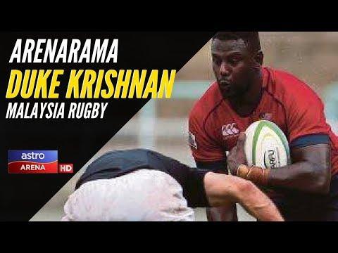 Arenarama: ETC | Duke Krishnan | Ragbi Malaysia | Astro Arena from YouTube · Duration:  6 minutes 31 seconds